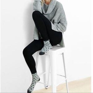 ❗️1 LEFT Nordstrom Chic Black Opaque Leggings NWT